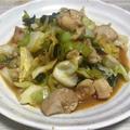 簡単&シンプル♪きゃべつと鶏肉のピリ辛中華炒め