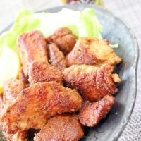 鶏胸肉で柔らかジューシー♪にんにく味噌カレーチキン