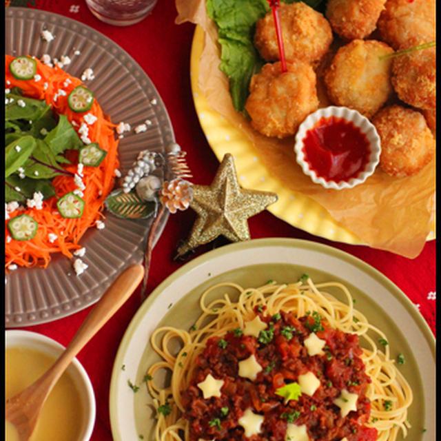 クリスマスの楽ちん料理たち!鶏むね肉でチーズinナゲットetc