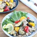 食欲そそる☆夏野菜と豚肉のねぎ塩レモンソテー by kaana57さん