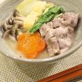 自家製スープでやみつき!「ごま味噌豆乳鍋」。
