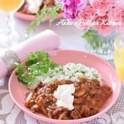 【ロシア料理】ビーフストロガノフ デミグラスソースを使用するレシピ