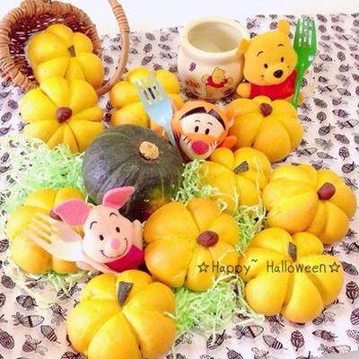 かぼちゃ畑の収穫祭/かぼちゃパン