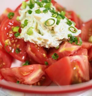 切っただけシリーズ・トマトのしらすマヨサラダ【#簡単レシピ #ダイエット #しらすマヨ】