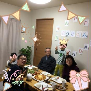 長男君のお誕生日! キャラ弁の数々~