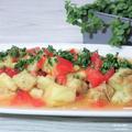 茄子がどんどん消えていく。「焼き茄子サラダ」トルコ風。