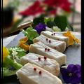 オードブル作りの一日〜フープロで簡単!!白身すり身のテリーヌ風やバスクチーズケーキ
