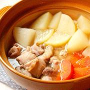 大根の大量消費におすすめレシピ!大根の塩バターポトフ鍋の簡単作り方