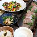 ◆ムロアジ竜田チリ野菜餡とバク旨カンパチ♪ by fellowさん