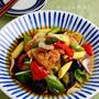 鶏竜田と野菜のだしぽん酢浸し by JUNA(神田智美)さん
