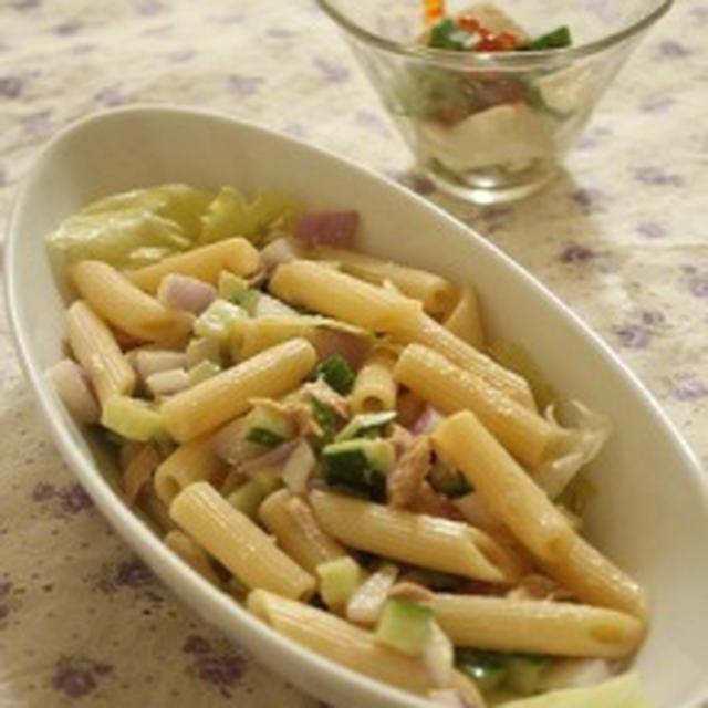ツナのサラダパスタ&2日分のお弁当13