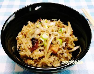 ラーメンつゆ&鶏の缶詰de究極簡単混ぜご飯^^@