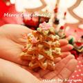 クッキーで作ろう♪小さな小さなクリスマスツリー