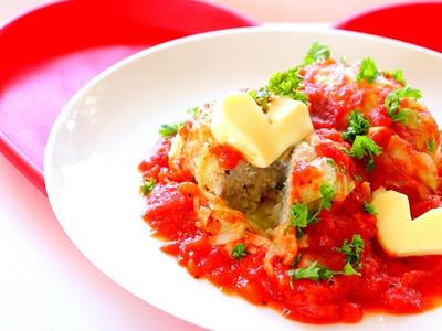 >【動画】巻かないロールキャベツ トマトソースのレシピ作り方 ー キャベツ大量消費 by 和田 良美さん