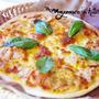 うす焼きピザ