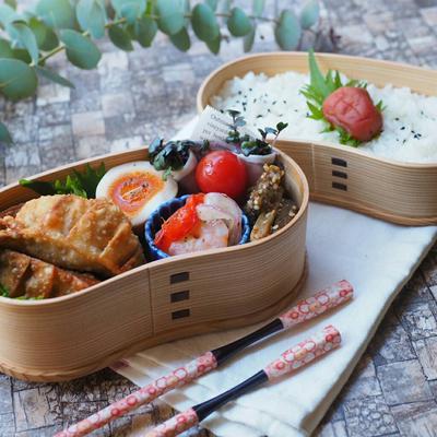 3月12日 揚げ餃子弁当 と ラムチョップde誕生日