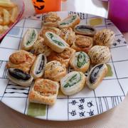picard(ピカール)の冷凍食品で、ハロウィンパーティー
