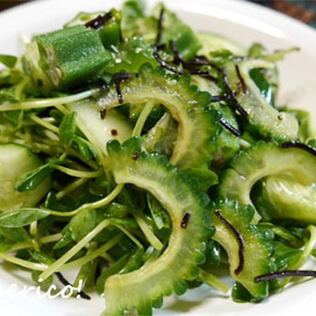 野菜高騰のピンチに!エコ野菜+塩昆布の超簡単サラダ