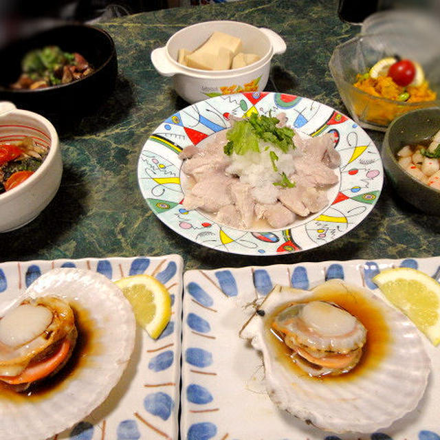 7月6日は食べるのも作るのも涼しいお料理★全6品とお知らせ3つ(夏バージョンだよ)