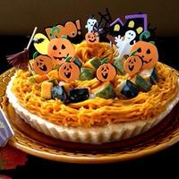 ハロウィンはかぼちゃたっぷり♪♪『かぼちゃ餡タルト』& ありがとう♡嬉しいつくれぽ♪♪