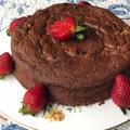 粉なしチョコレートケーキ