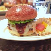 ハンバーガー日記*アボカドチーズバーガー