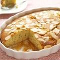 米粉と焦がしバターのピーチアロマティーケーキ