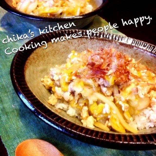 生姜香る♡白菜と鶏ひき肉の和風とろみあんかけ丼♡