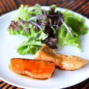【授かるベーシックレシピ】バターとポン酢で味がきまる!鮭のバタポン焼き