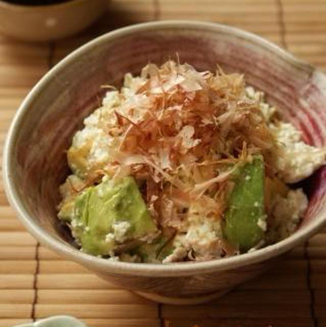 【調理師あこのお惣菜やさん】アボカドの白和え・ミニトマトとお揚げのヒンヤリおひたし