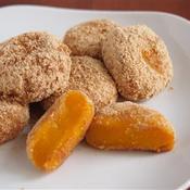 かぼちゃ白玉シナモン風味