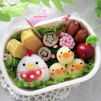 キャラ弁日記☆HDC神戸 第4回スマイル弁当コンテスト~のお弁当~☆