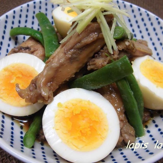 鶏手羽の生姜煮