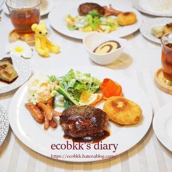【洋食】おうちごはん(3日分の記録)/My Homemade Dinner /อาหารมื้อดึกที่ทำเอง