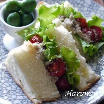 sandwich ~豚肉のリエット♪