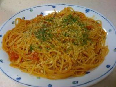 フライパン一つでナポリンタンスパゲティ