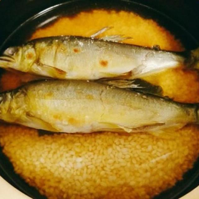 土鍋で作る鮎飯