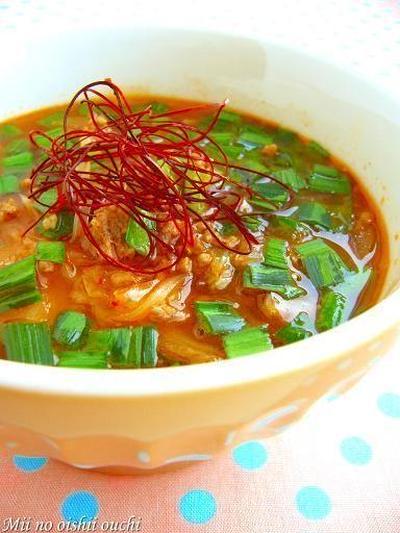 キムチで冷え性改善!簡単スープレシピ5選