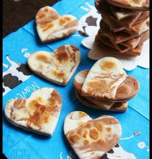 [簡単!卵・バター不要!] フライパンでマーブルクッキー と トランス兄弟(※動画です)