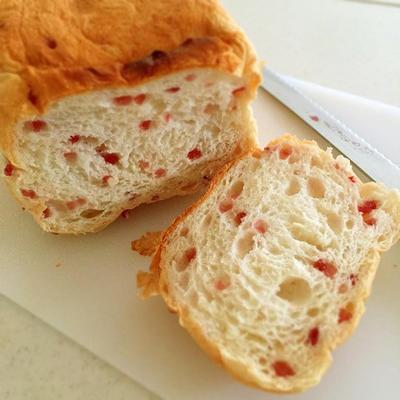 おまかせ♡甘くて美味ないちご食パン*ランチは柿安w