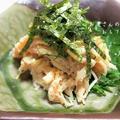 えのき茸の明太バター和え  &美味しい京だし巻き、みたらし団子の頂き物