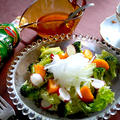 ブロッコリーとほおづきのサラダ
