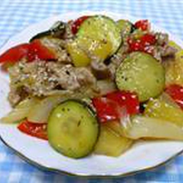 トロピカルな豚野菜炒め☆