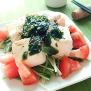 豆腐とわかめの和風サラダ☆