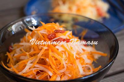ダイエット常備菜に!ベトナム風紅白なます☆ナチュラルダイエット・レシピ