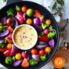 温焼きカラフル野菜とパルミジャーノバーニャカウダ