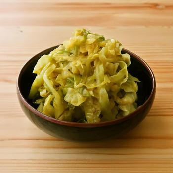 【野菜ひとつ】キャベツのカレーマリネ