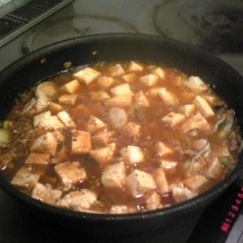 (レシピ)麻婆牡蠣(マーボカキ)