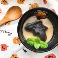 【レシピ】コウモリのジンジャーミルクゼリー