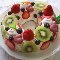 誰でも簡単♡カラフル!な夢かわいいクリスマスケーキ♪